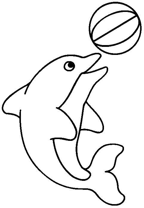 imagenes - Dibujos de delfin