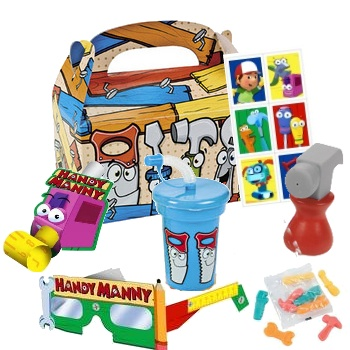17 best images about handy manny party on pinterest hand for Handy manny decorations