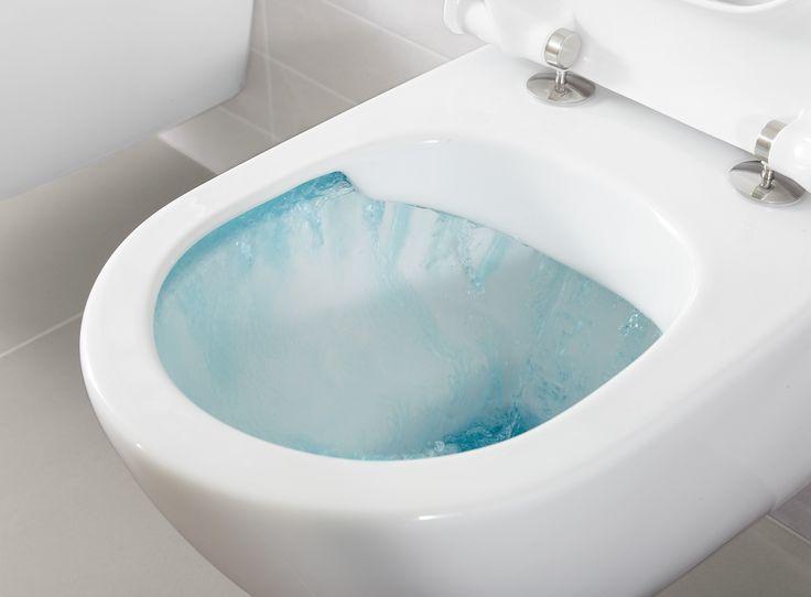 Spülrandloses WC von Villeroy & Boch - Planungswelten