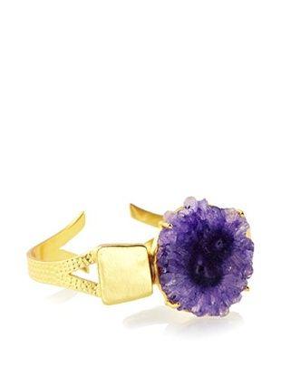 70% OFF Saachi Purple Agate Cuff