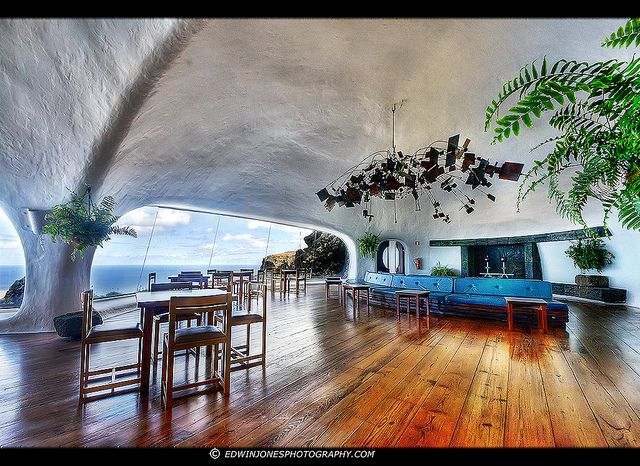 Mirador del Rio Cafeteria Lanzarote HDR by Edwinjones, via Flickr