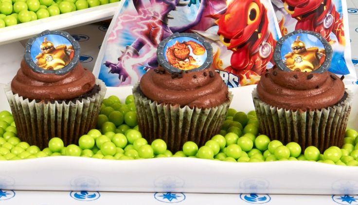 Skylanders Cupcakes Rings
