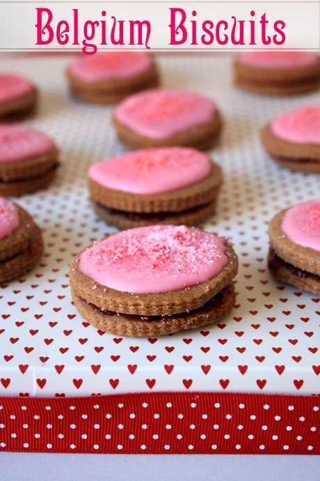 Belgium Biscuits - Mum used to make these biscuits so often.  My brother and I loved finding them in our school lunch boxes!