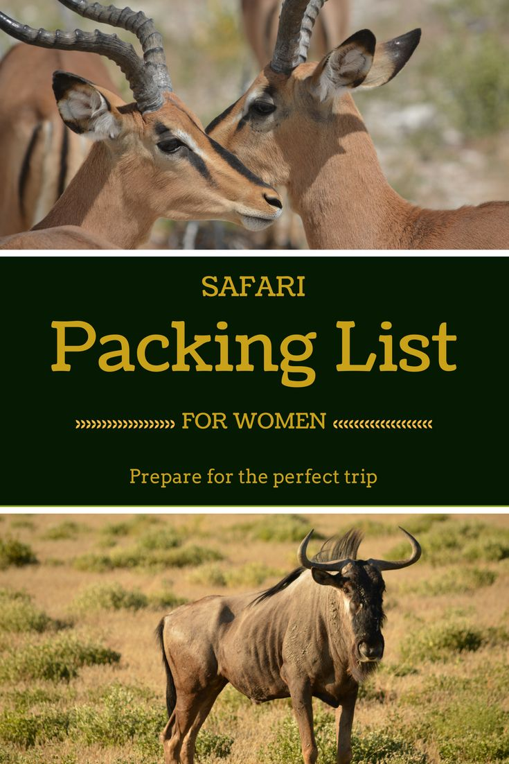 Planning to go on a safari in Africa? Use this carry-on only packing list to plan the perfect trip!