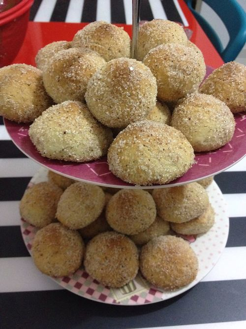 Şekerli Tarçınlı Minik Kurabiye www.afiyetle.com