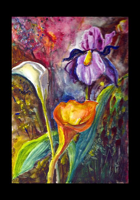 Watercolor on Canson CP. Original by Joanna Lazuchiewicz 2014