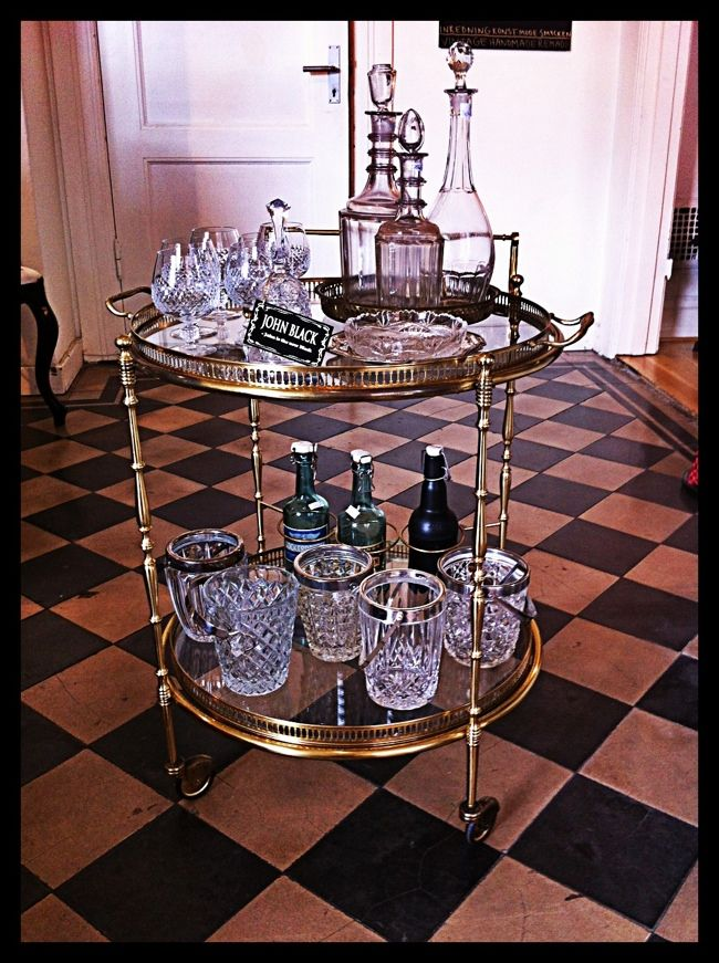 Cart, use as sideboard or for your whiskey bottles!