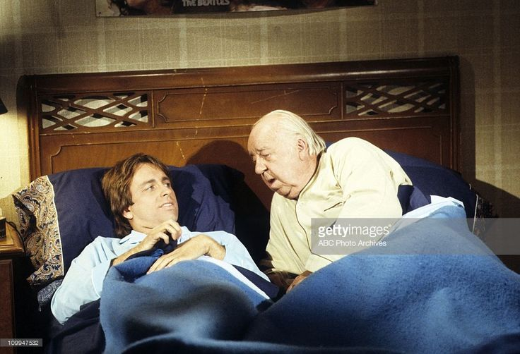 OLD LAKS AT HOME Tre cuori in affitto (three company) ep. 7 stagione 4 John Ritter (1948-2003), Pat O'malley (1904-985)