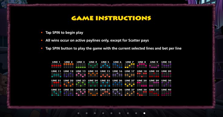 The game instructions are clear and straight forward.