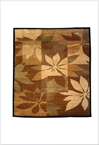Beautiful rug design of a bloom to shop in Melbourne.   Indian Contemporary Collection, Nepal weave New Zealand wool pile.
