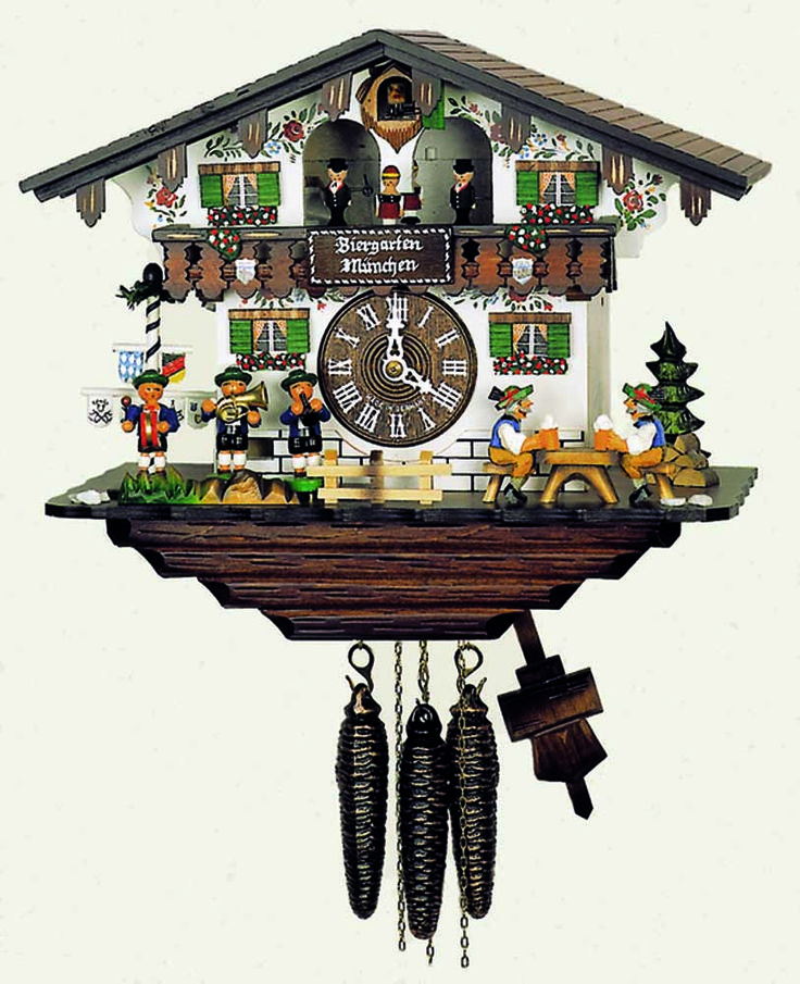 Albstadt 950/3 V RM - from Hubert Herr, synonymous with the creation of premium quality cuckoo clocks for over 200 years. Employing talented and skilled woodcarvers, they combine traditional techniques with todays;  producing uniquely beautiful hand crafted clocks, which sets them far apart from others.  All Hubert Herr cuckoo clocks are certified by the Black Forest clock association; to be mechanically operated and handmade in the Black Forest, using major parts sourced from that region.