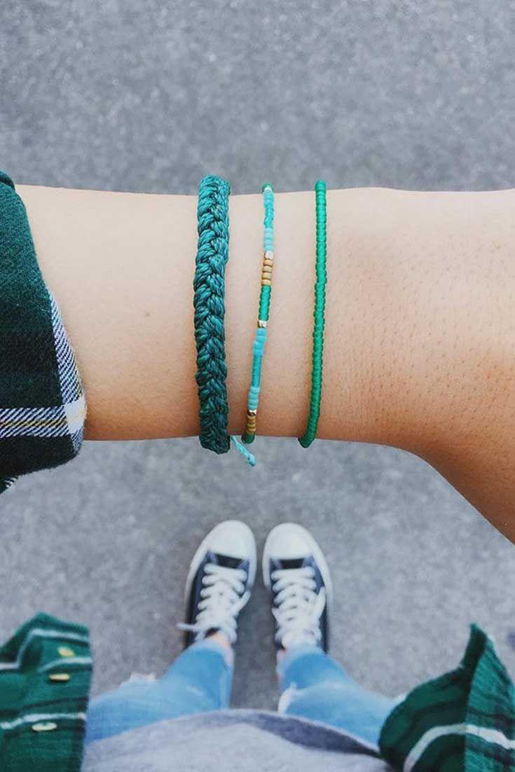 Green   Pura Vida Bracelets