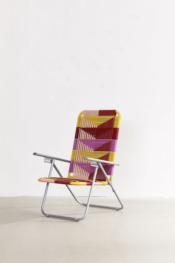 Woven Outdoor Lawn Chair With Images