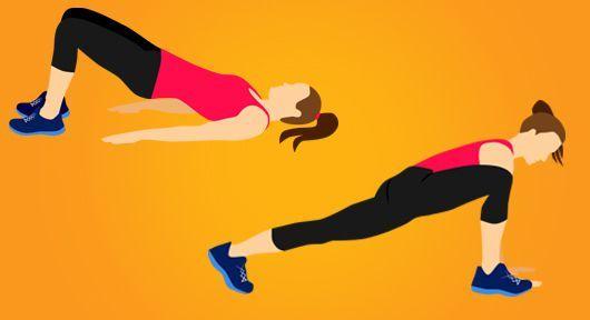 Do formy No. 1 – Zpevnění celého těla třemi kombo cviky