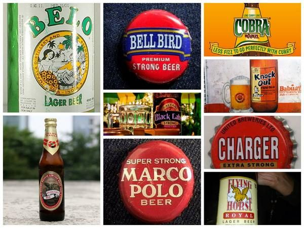 Some famous and not so famous beer brands from India. http://indianfoodtours.in/chef-tours-india/
