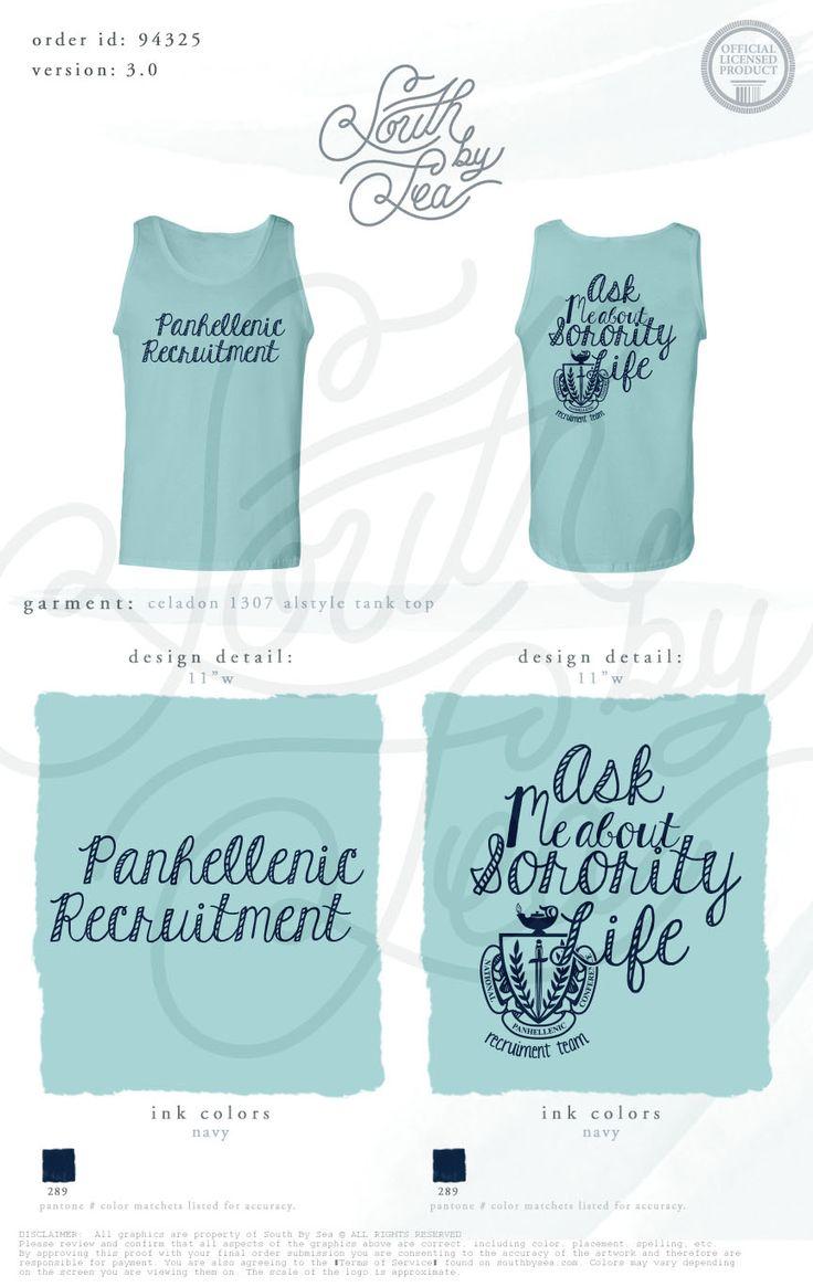 25 b sta panhellenic recruitment id erna p pinterest for Greek life shirt designs
