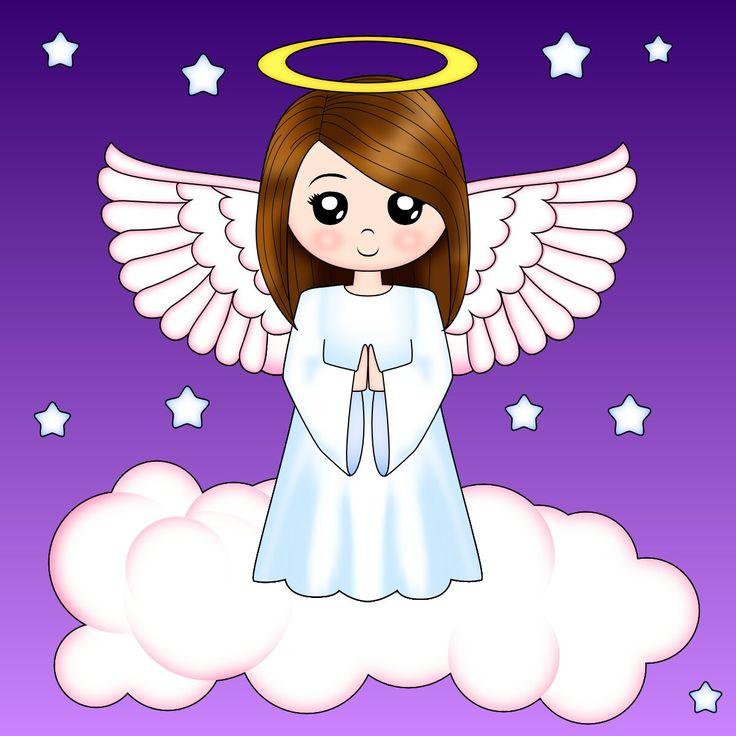 рисунок ангелы большой самородок