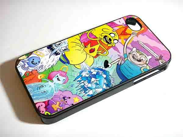 ADVENTURE TIME CARTOON ZOMBIE for iPhone 4/4s/5/5s/5c, Samsung Galaxy s3/s4 case