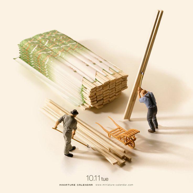 Chopping sticks
