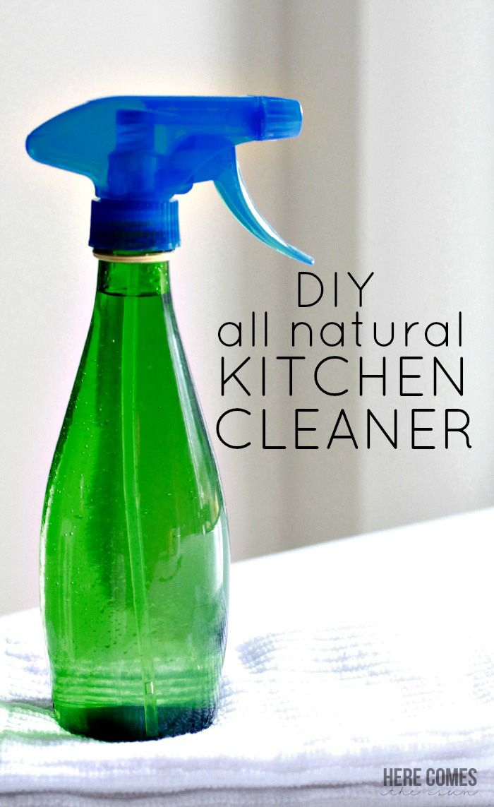 Diy all natural kitchen cleaner recipe natural kitchen cleaning