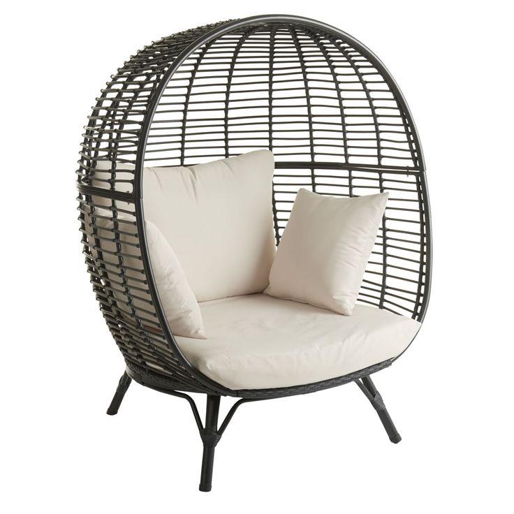 Wilko Garden Snuggle Egg Chair Rattan Effect £275