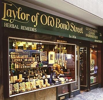 Taylor of Old Bond Street; The whole place just smells so, so, good.