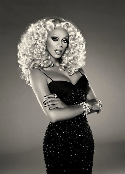 """I don't care if people stare. I'd rather boogie than try to fit in."" -RuPaul"
