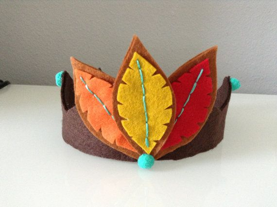 Thanksgiving Headband. Felt Feather by LittleCottonTree on Etsy, $12.00