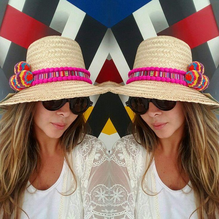 SOMBRERO DECORADO WAYUU❤beautiful hat decorated with weave Wayuu  ♡ sombrero de paja decorado con pompones ,cintas y tejido wayuu  By @mardeamorsw ❤ #sombreroaguadeño #sombrerowayuu #sombreros #sombrerobeach #sombrerodeplaya #sombrero #sombrerodecorado #sombrerosdecorados #wayuustyle #wayuu #sandaliaswayuu #sandals #sandalias #wayuumochila #wayuubags #wayuubag #wayuubracelets #mardeamorsw
