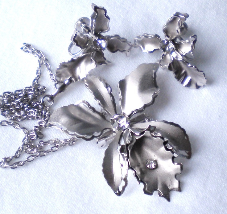 73 best images about orchid jewelry on pinterest for Bugbee and niles jewelry