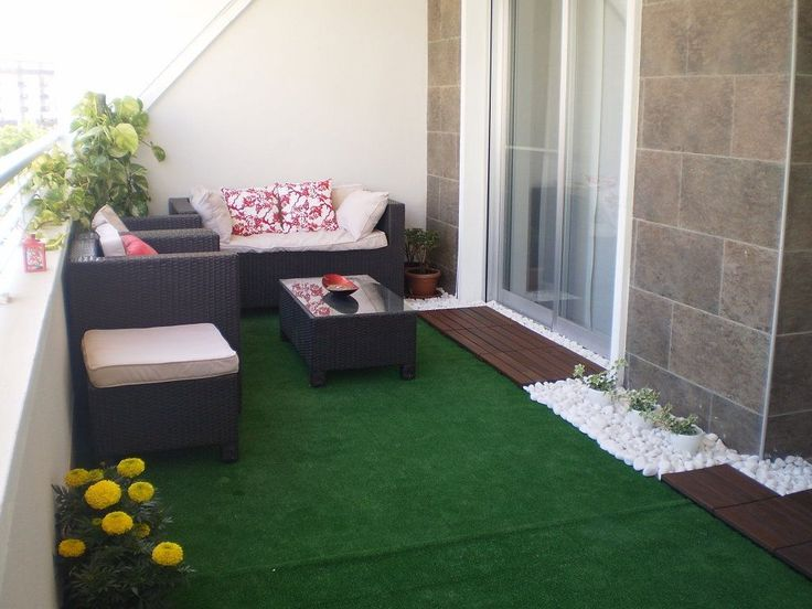 Resultado de imagen de fotos de terrazas estrechas y - Ideas para una terraza ...