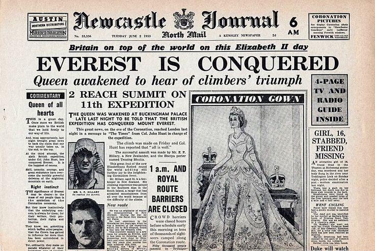 1953 newspaper headlines | NEWSPAPER HEADLINES etc : Old Newspaper articles from times past in ...