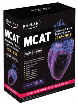 MCAT Complete 7,Book Subject Review 2018,2019 , Online + Book -Free worldwide shipping of 6 million discounted books by Singapore Online Bookstore http://sgbookstore.dyndns.org