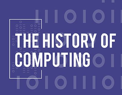 "Check out new work on my @Behance portfolio: ""History of Computing"" http://be.net/gallery/34030494/History-of-Computing"