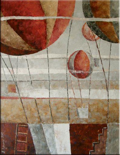 Virtualgallery.com | Gallery: Ewa Tyburcy oil painting. [11611]