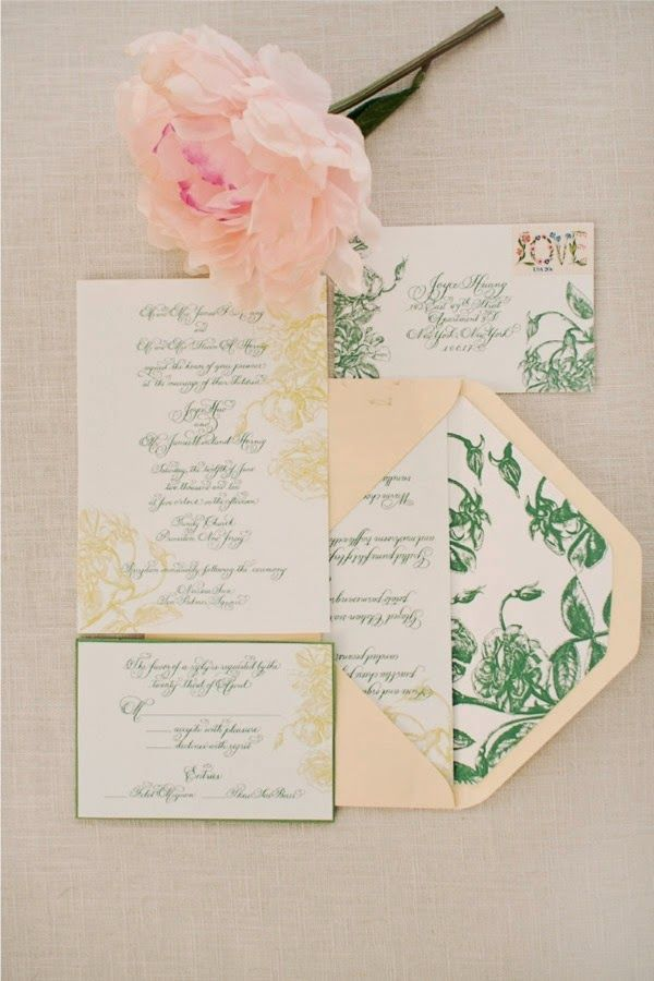fast shipping wedding invitations%0A Hint to the the tone of your venue from the start with an understated  floral invitation