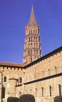 Basilique Saint Sernin à Toulouse - Haute-Garonne