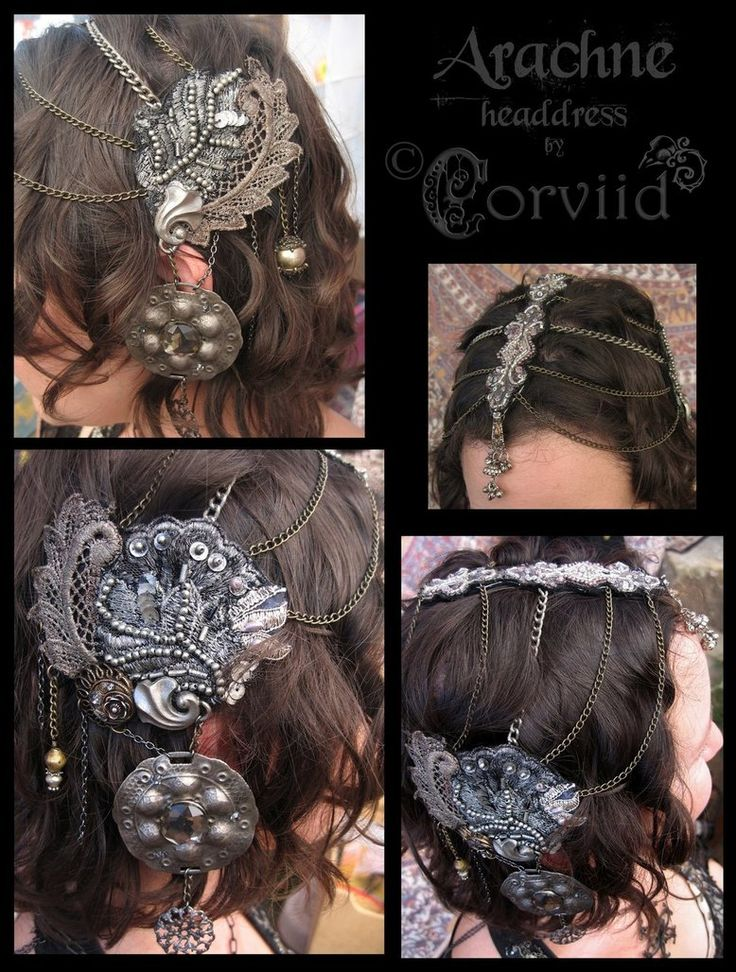 Arachne Costume (headdress)