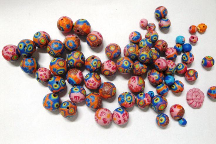 Perline di pasta polimerica