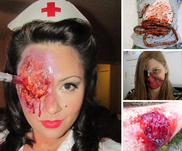 how to make up like zombie