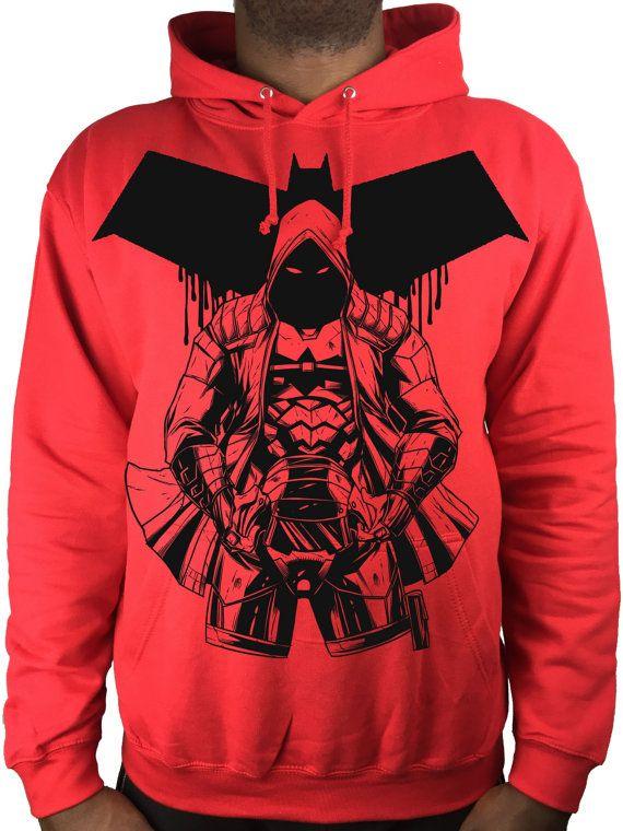 Red Hood hoodie DC Comic sweat best batman red hood top