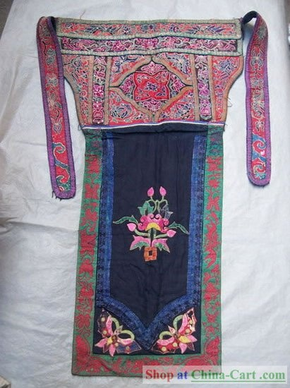 Chinese Old Hand Embroidery Vintage Collectible