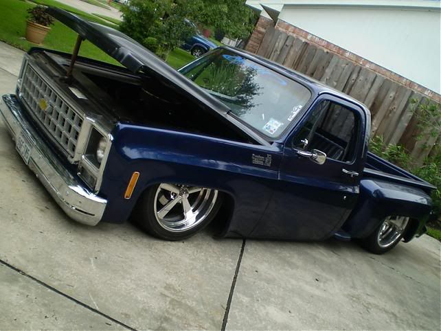 pics of slammed/bagged stepsides? - The 1947 - Present Chevrolet & GMC Truck Message Board Network