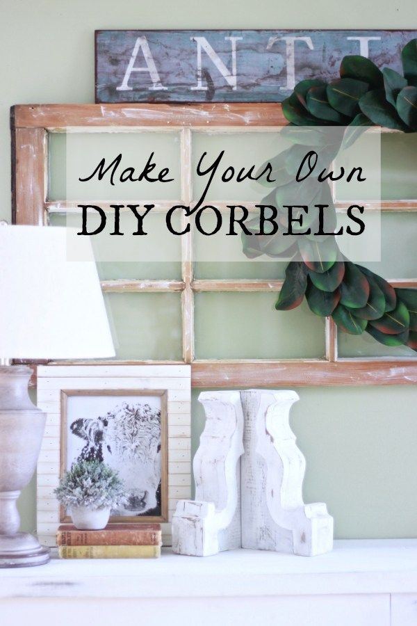 3113 best country modern decor images on pinterest country how to make diy corbels in a few hours save a ton of money and solutioingenieria Gallery