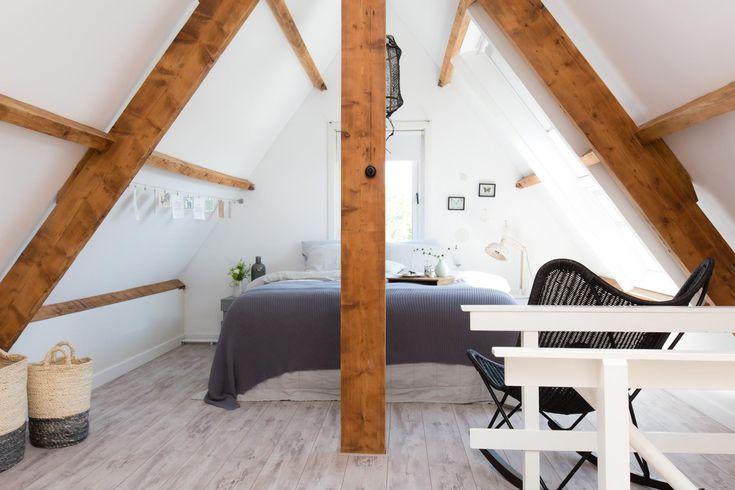 De nieuwe slaapkamer van Celine en Ben in aflevering 7 van vtwonen doe-het-zelf | Make-over door Kim van Rossenberg