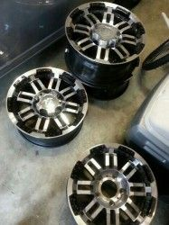 "#Houston, TX Merchandise / 17"" #rims for sale cheap!! - Geebo- Almost new, minor wear"