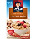 Quaker Instant Oatmeal - Cinnamon and Spice