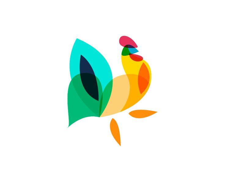 New Rooster by Ilya Schapko #Design Popular #Dribbble #shots