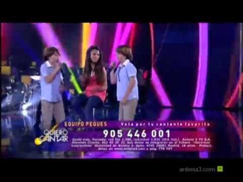 Quiero Cantar - Antena 3 -  Daniel y Jesús Oviedo (15 años tiene mi amor)