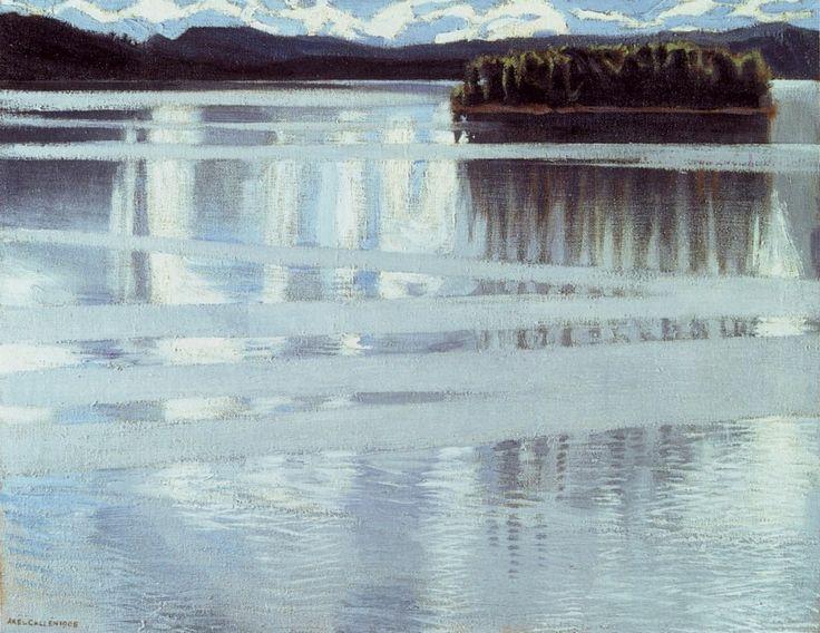 Keitele Lake, 1905 Akseli Gallen-Kallela